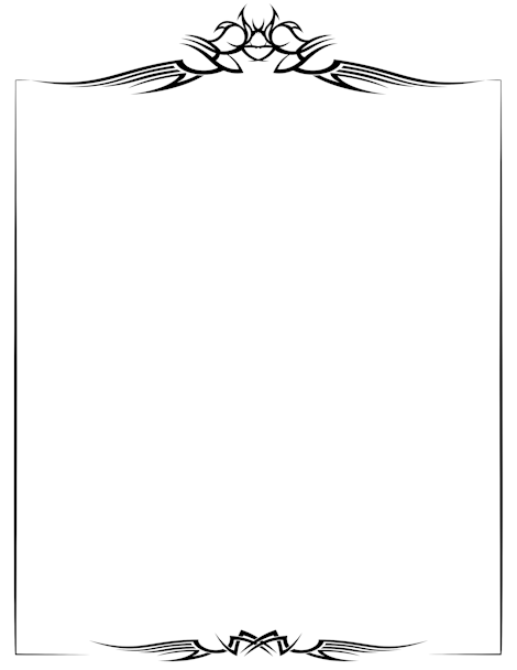 Printable gothic border free gif jpg pdf and png downloads at free gothic border templates including printable border paper and clip art versions file formats include gif jpg pdf and png pronofoot35fo Choice Image