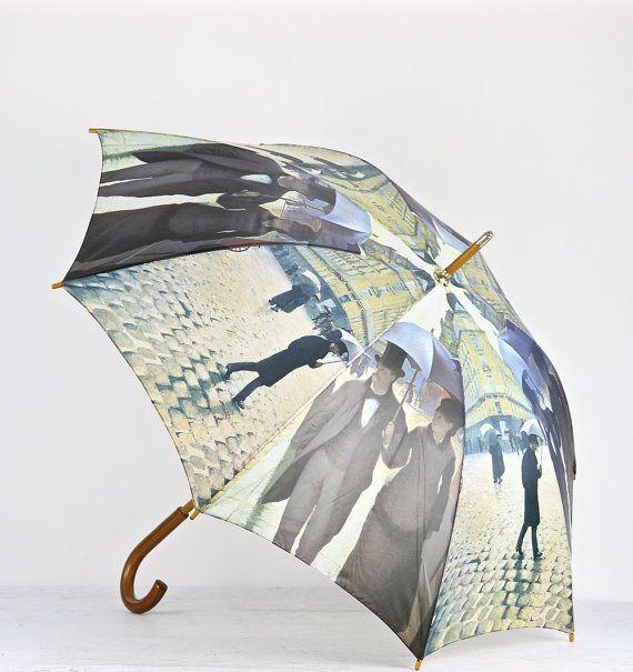 Vintage Umbrella Vintage Umbrella With Wooden door HuntandFound