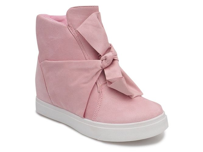 Sneakersy Na Koturnie 1787 Rozowy Wedge Sneakers Sneakers Comfortable Shoes