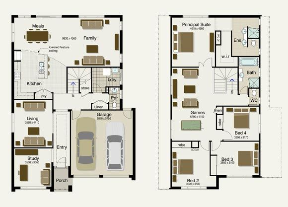 Original Floor Plan   Have Made WIR Wider, Changed Layout Of Ensuite To  Include Freestanding