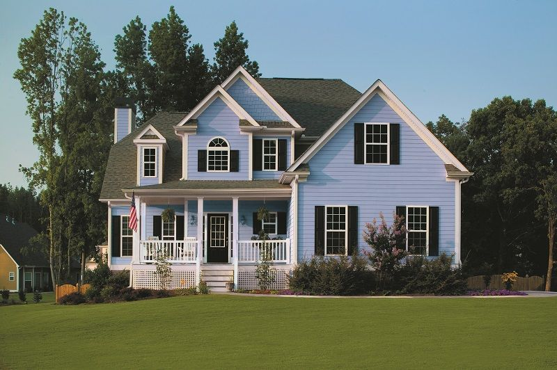 Tip While Choosing The Perfect Paint Color Is Very Important The Sheen House Paint Exterior Exterior House Colors Exterior Paint Color Combinations