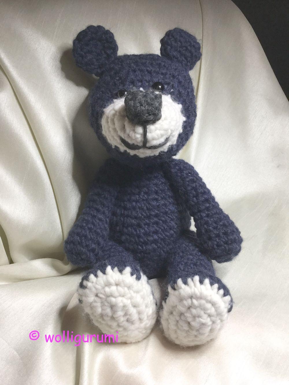 Häkelanleitung Börni Bär | Bären, Häkelanleitung und Teddy häkeln