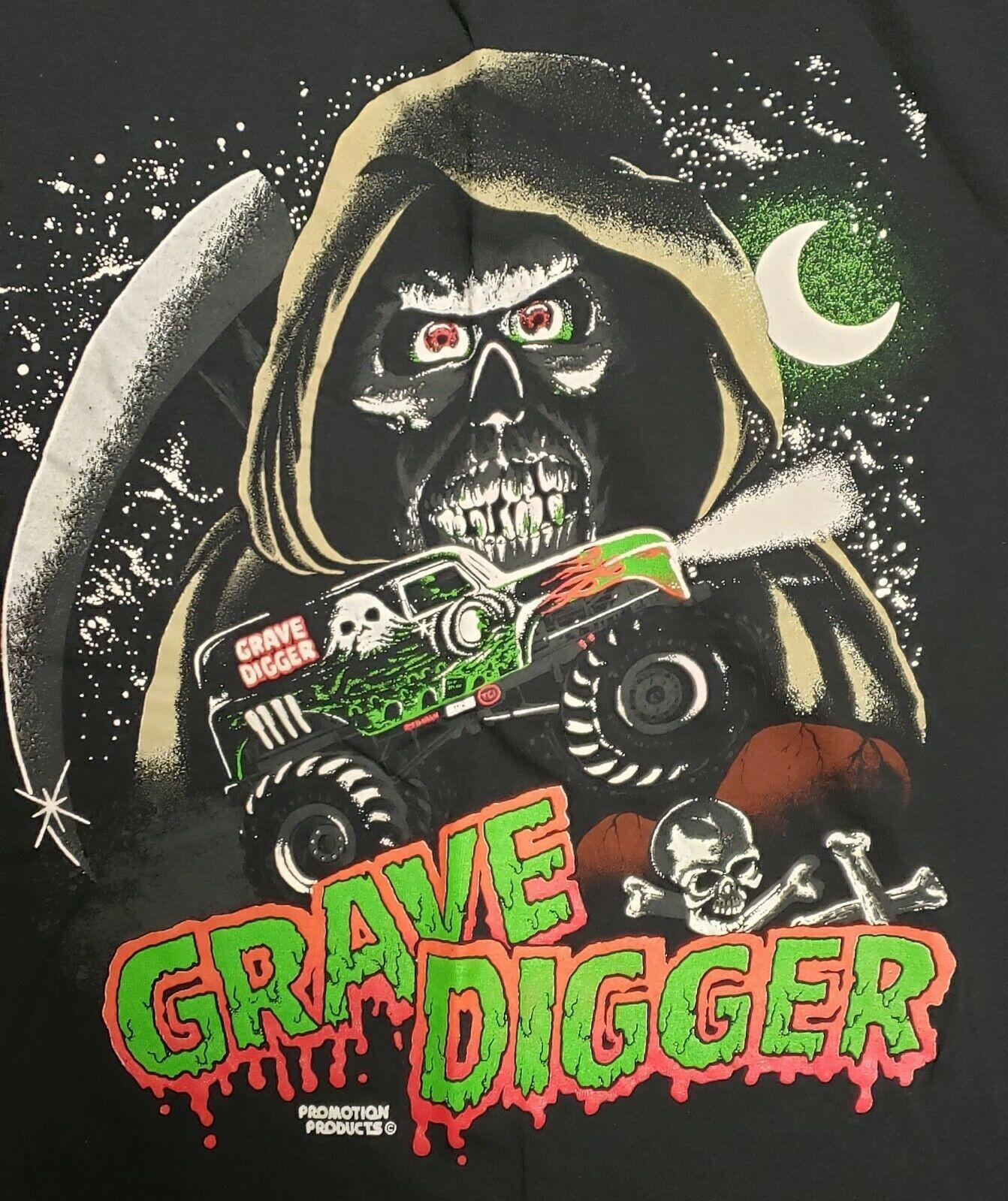 vintage grave digger monster truck