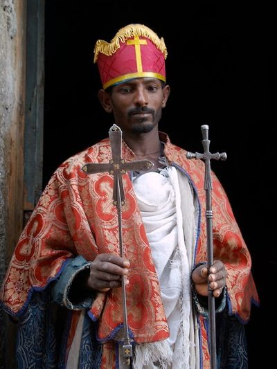 Amhara priest, Ethiopia  Amharans are one of the ethnic