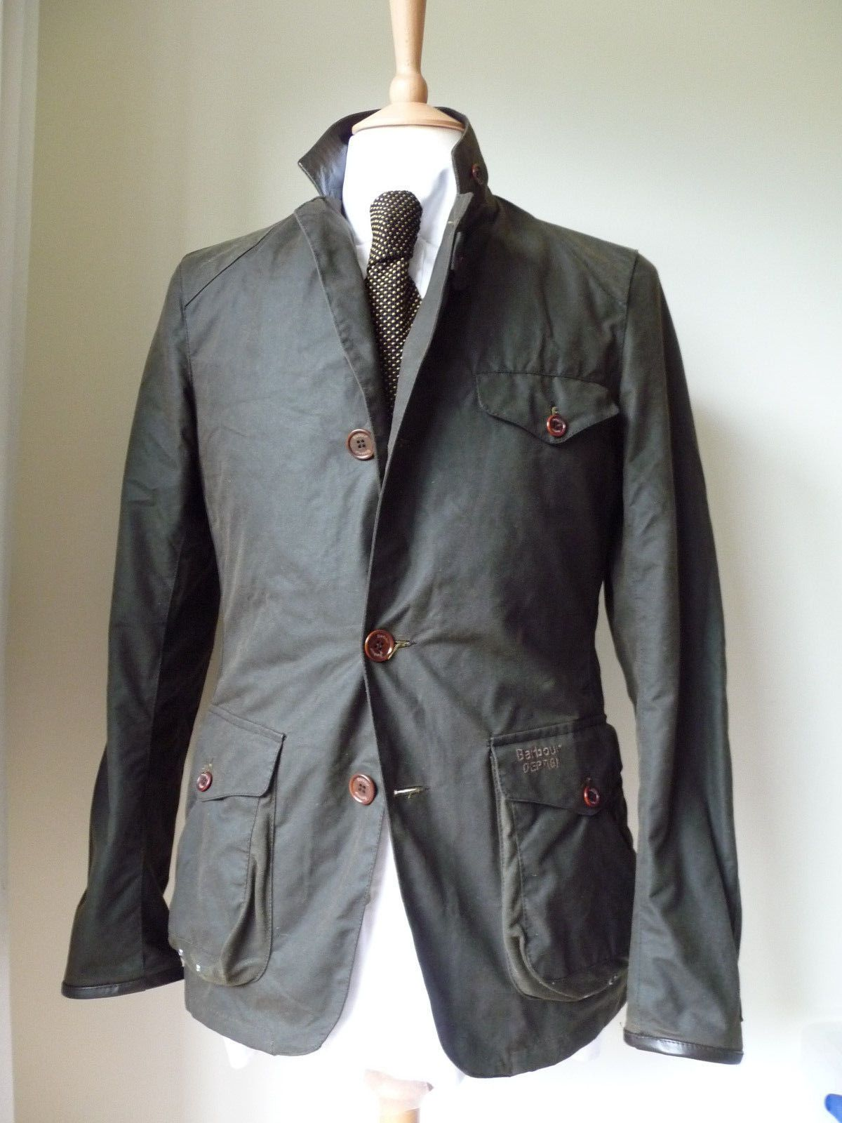 6728133df5407 Barbour Commander Jacket as seen on James Bond in Skyfall in Clothes