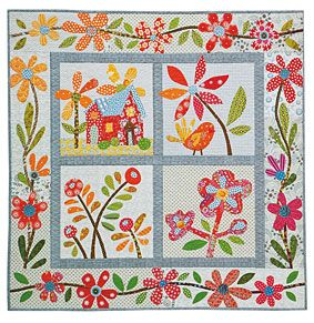 Additional Images of The Best-Ever Applique Sampler by Becky Goldsmith - ConnectingThreads.com