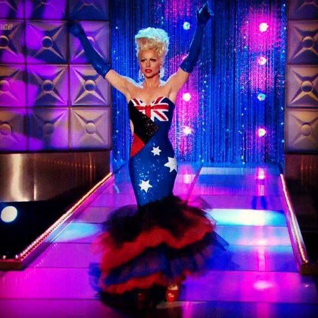 Risultati immagini per courtney act runway look