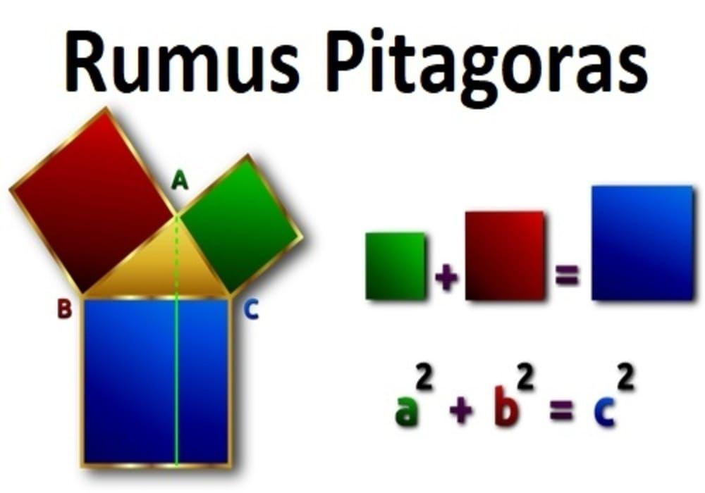 Pitagoras Rumus Pitagoras Teorema Pythagoras Soal Dan Jawaban Teorema Pythagoras Sekolah Dasar Geometri