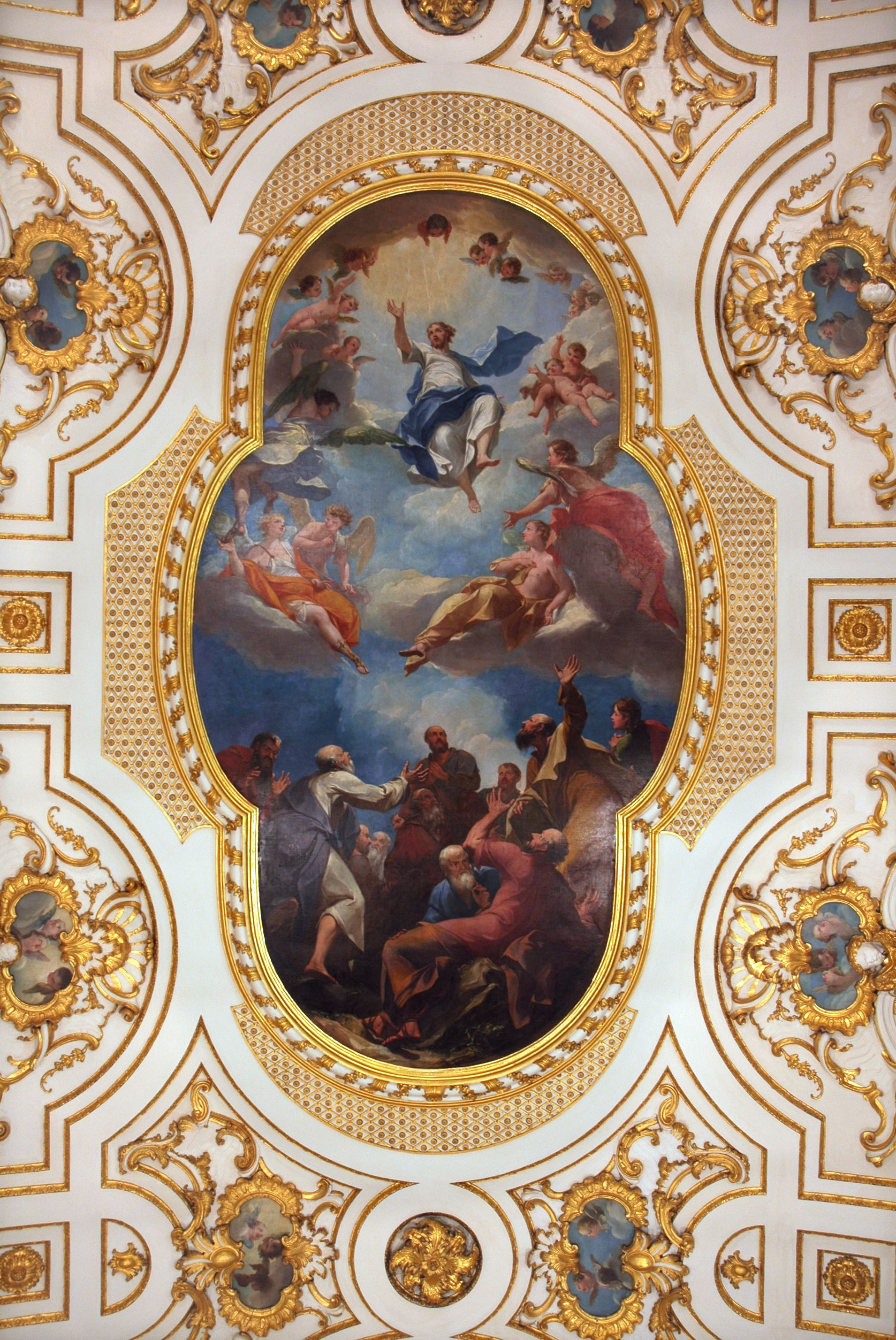Baroque ceilings file witley baroque for Churches of baroque period