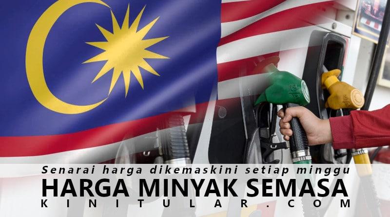 Senarai Lengkap Harga Minyak Semasa Malaysia Terkini