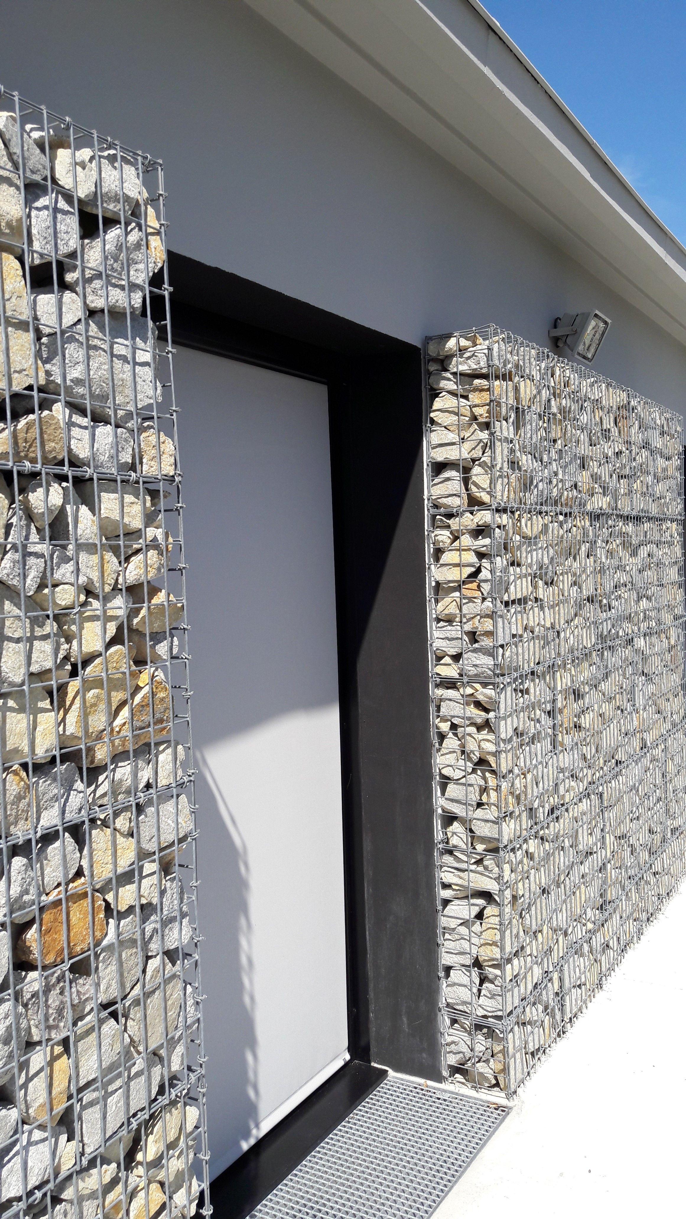 Pierre Naturelle Pour Facade gabions en pierre naturelle pour la façade d'ambulance bretagne