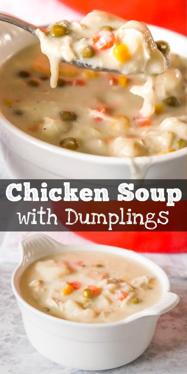 Chicken and Dumplings Soup - This is Not Diet Food