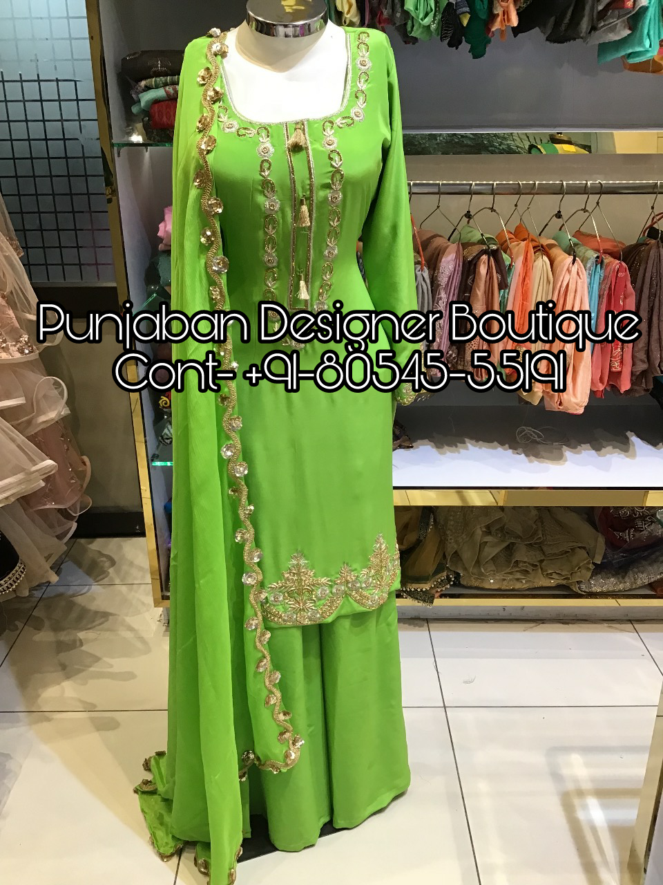 Call Us 91 80545 55191 Or Whatsapp Designer Plazo Suit Work Handwork C Embroidery Suits Design Punjabi Suit Boutique Punjabi Suits Designer Boutique,Baby Boy Designer Clothes Sale