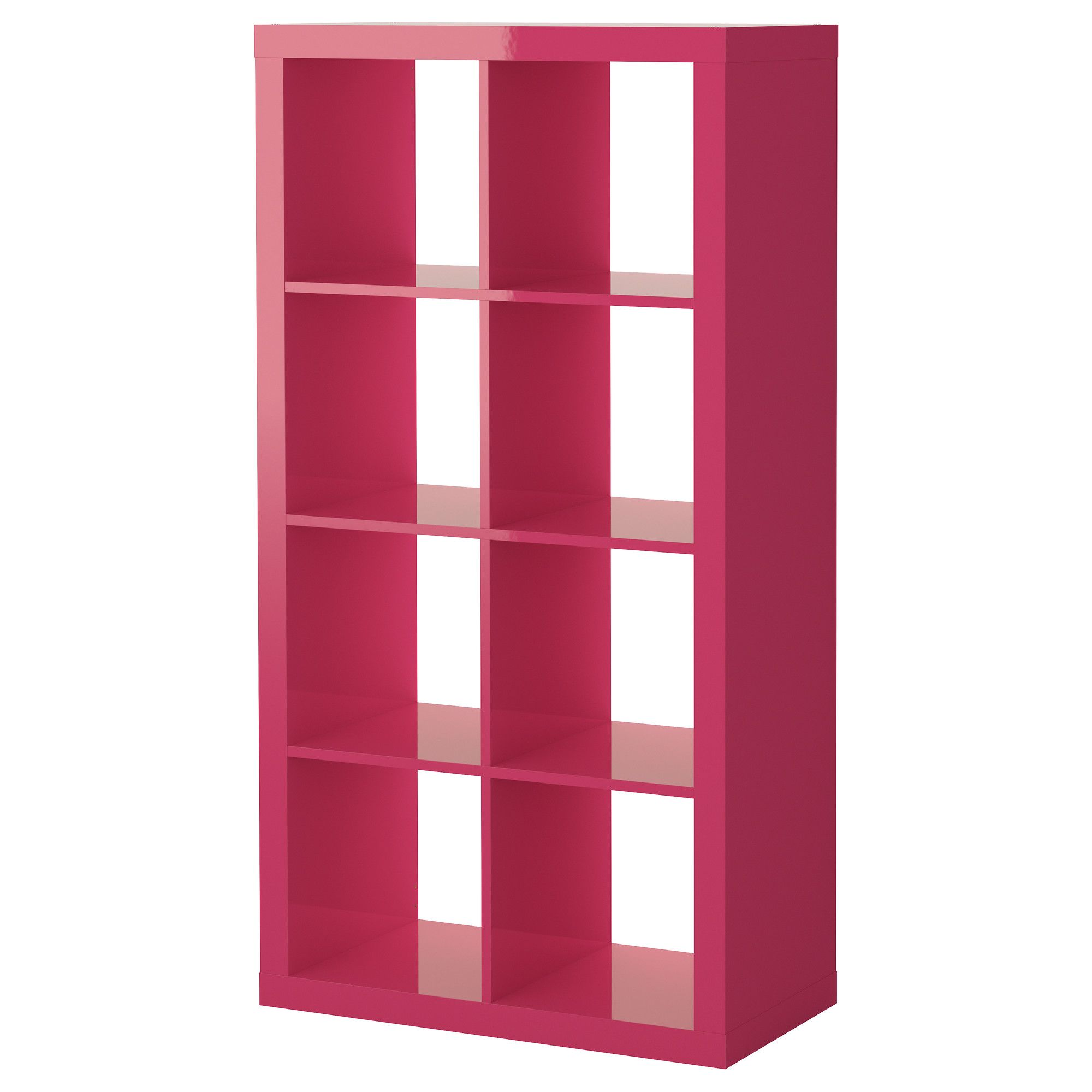 Expedit Shelving Unit High Gloss Pink Ikea White Gray Drawer And Cabinet Inserts