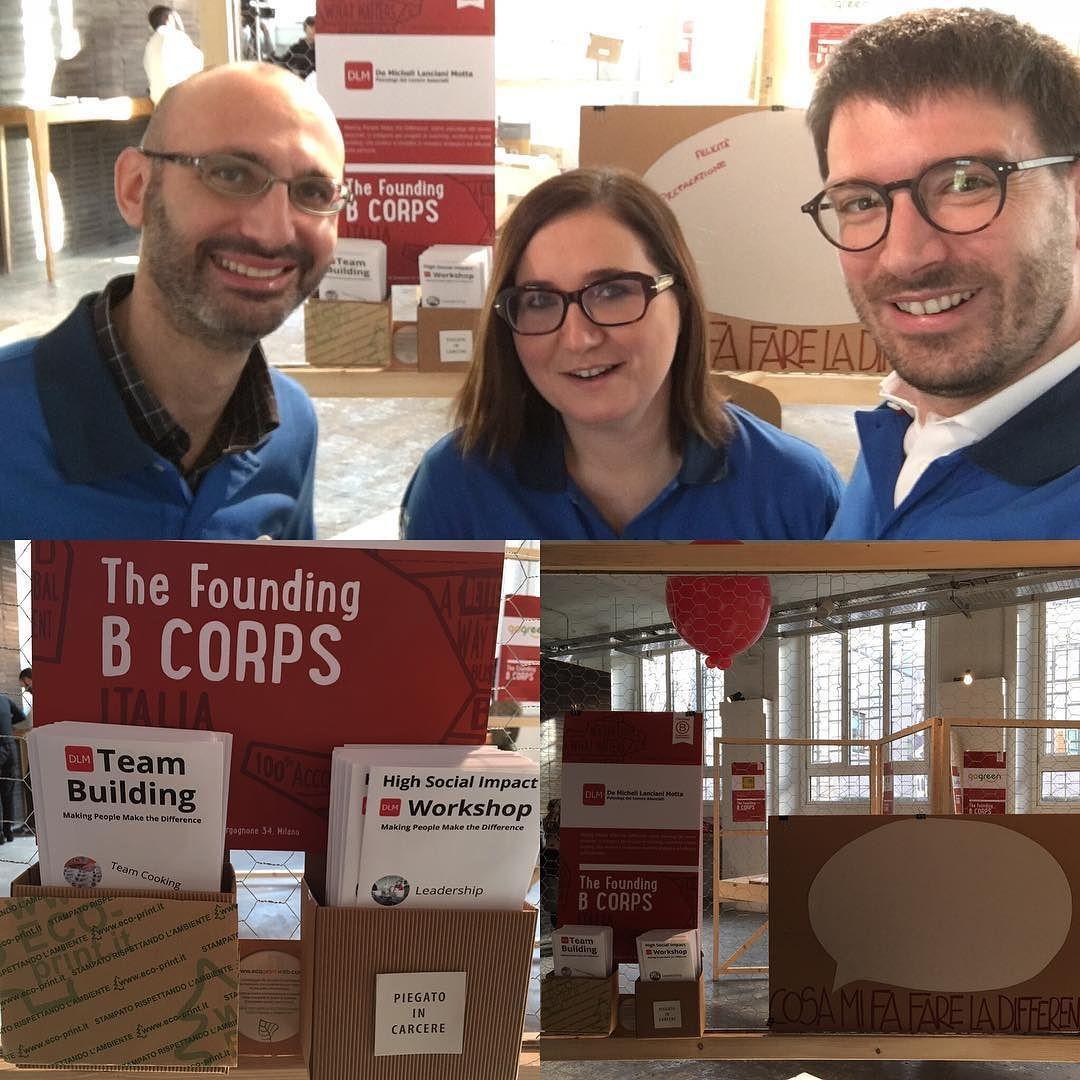 Pronti ad accogliere gli ospiti B Corporation Italia per parlare di #BCorp e di come fare la differenza #ProfitableSustainable #Uniqueness #MakingPeopleMakeTheDifference