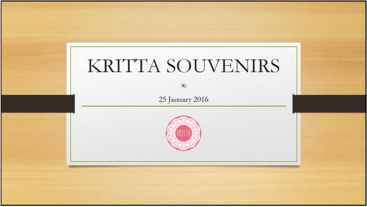 KRITTA SOUVENIRS