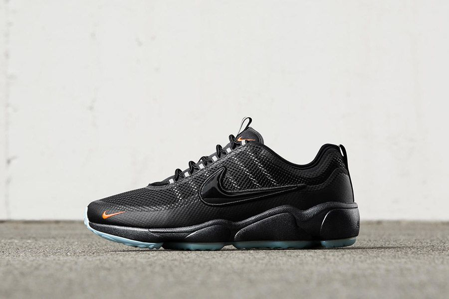 bf7abe1038416 Nike Air Zoom Spiridon  Black Crimson