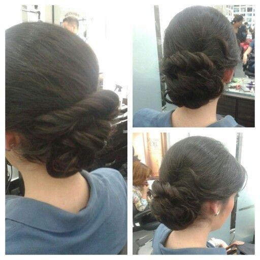 #hair #cabello #updo #peinado #recogido #hairstylist #vintage #wave #ondas #hairdresser #estilista #peluquero #Panama #pty #axel04 #axel