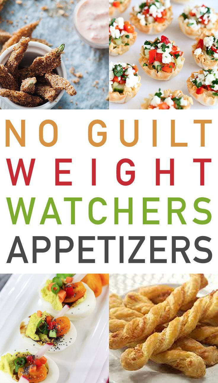 No Guilt Weight Watchers Appetizers images