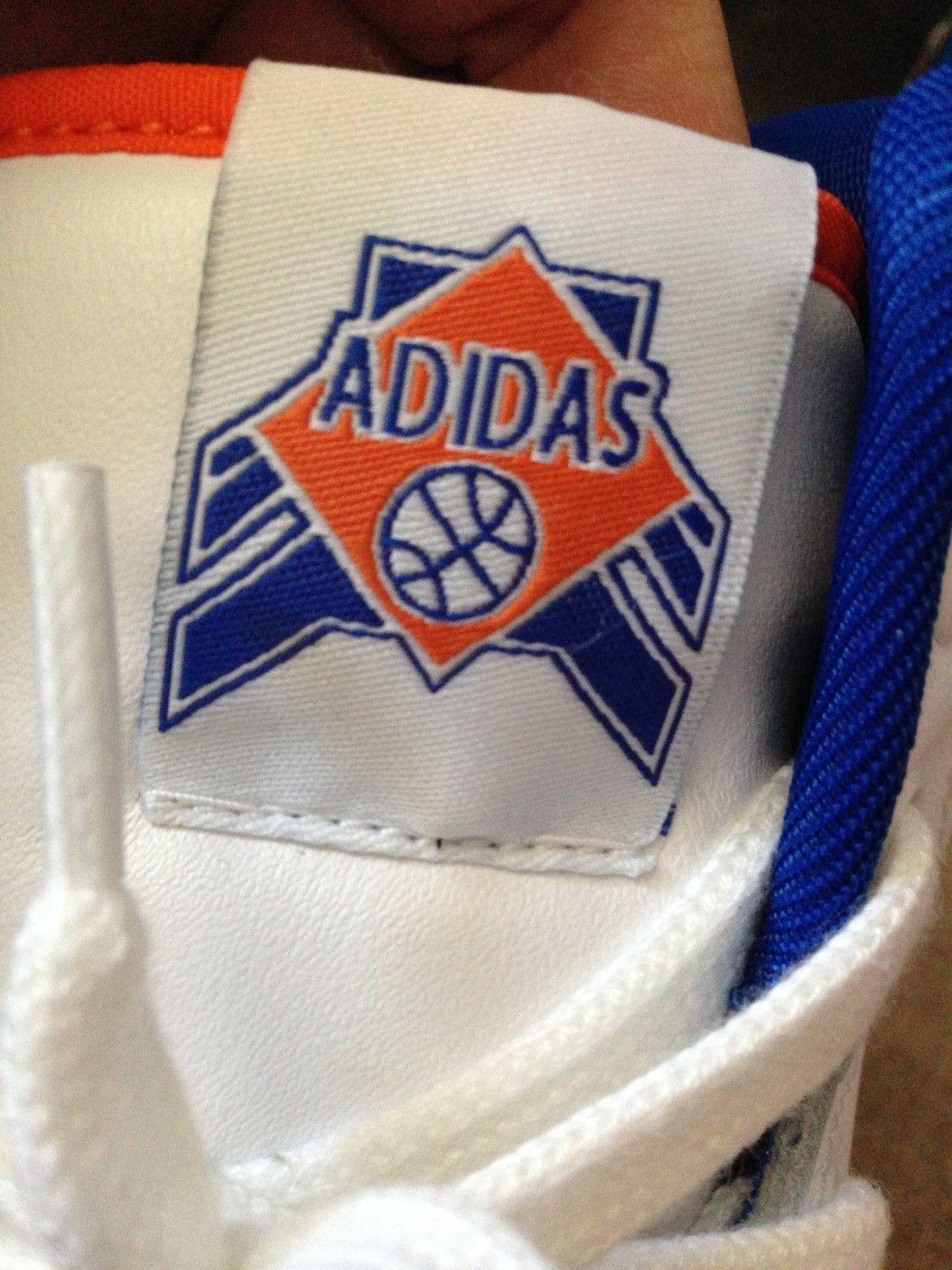 Adidas Originals Attitude Hi Knicks Ewing Sneaker Size 9 Pe Ds