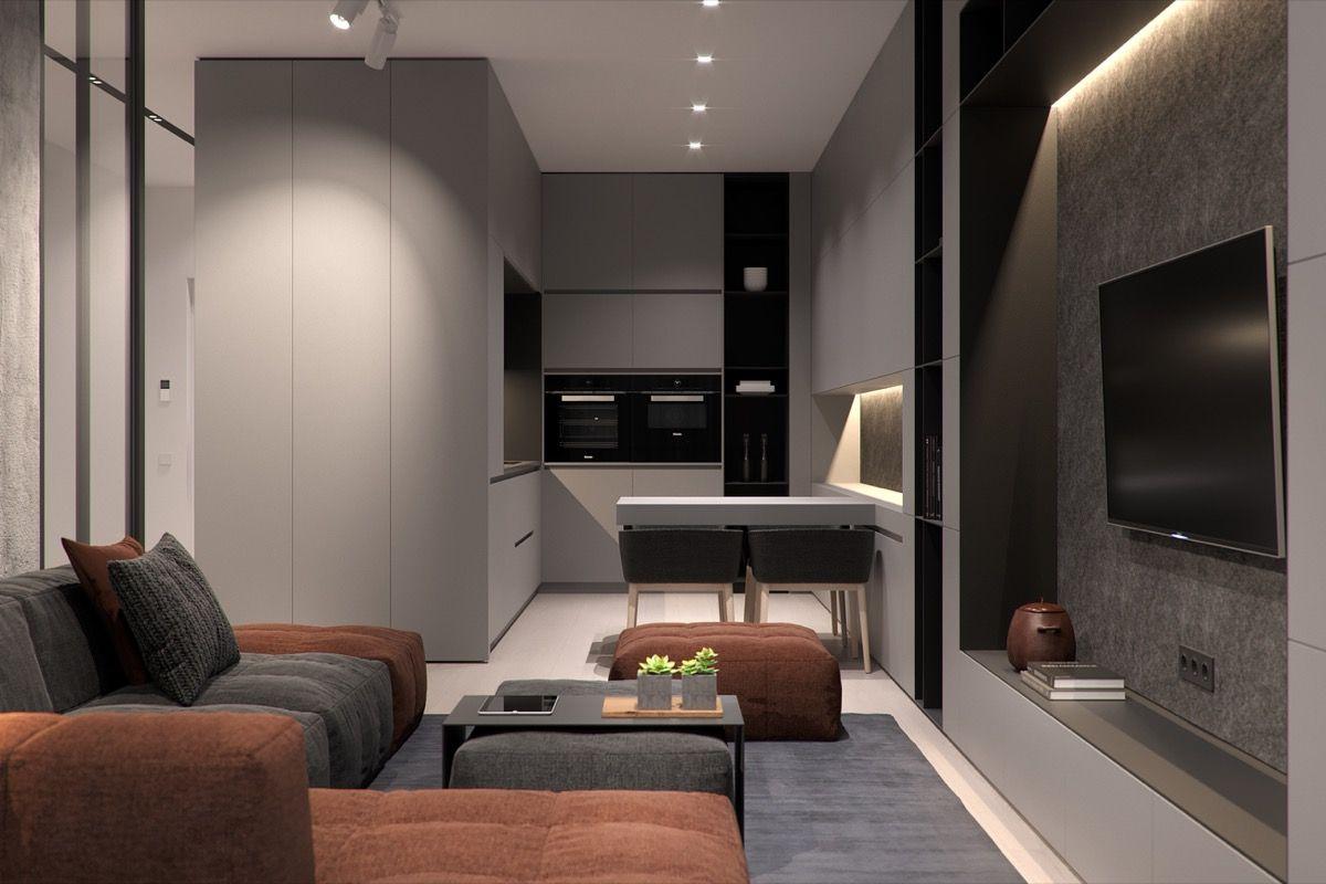 5 Studio Apartments that Use Space Splendidly | Home/ interior ...