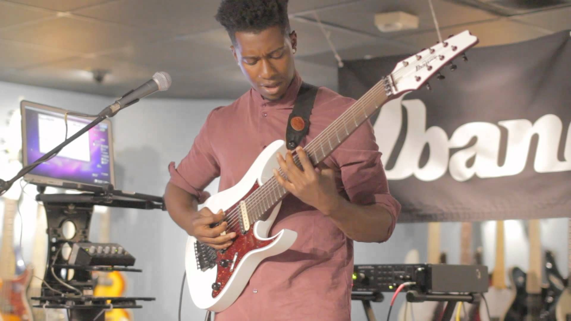 Tosin Abasi Animals As Leaders Thumping Lessons Hd