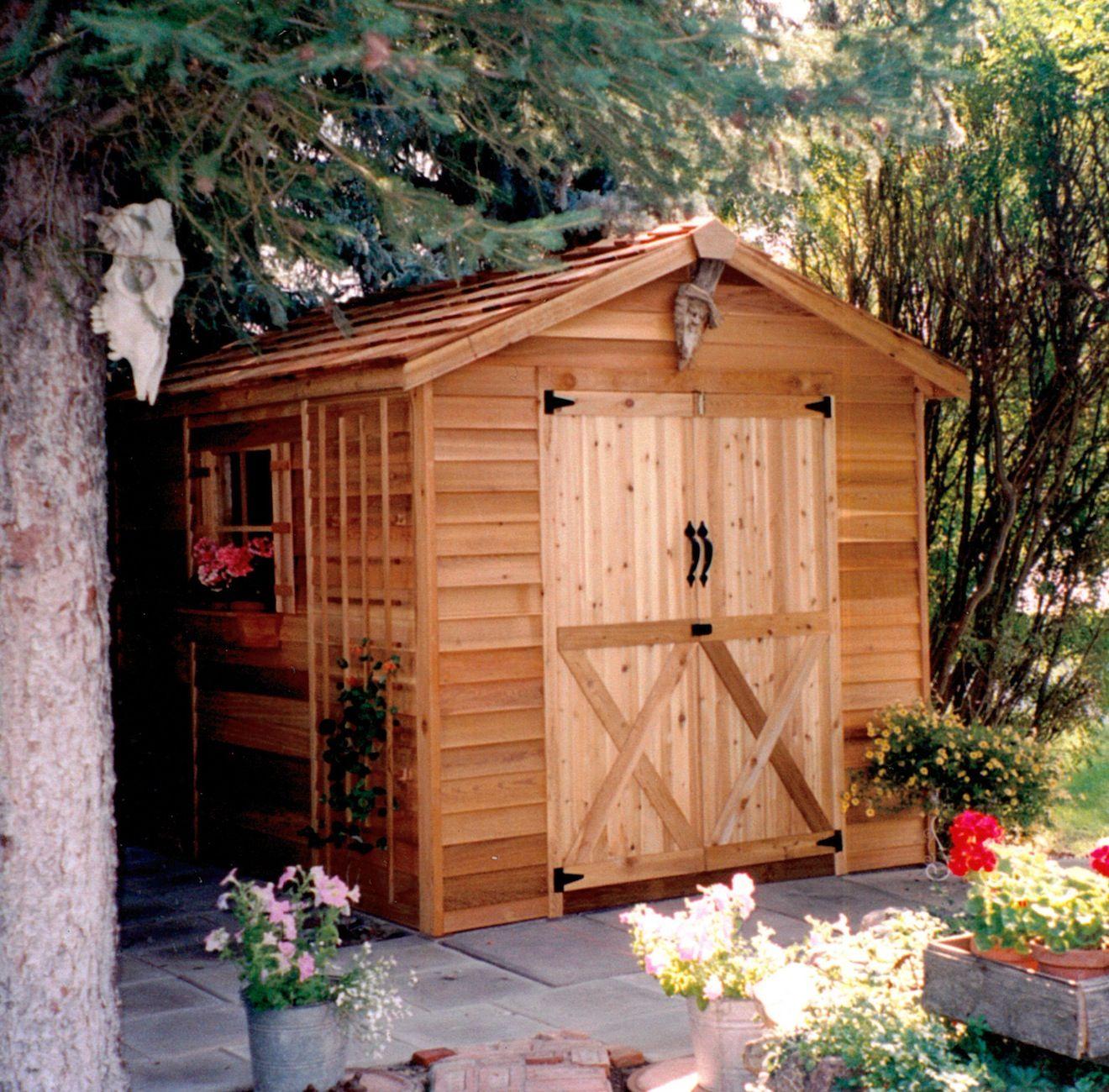 Ranchers Large Shed Kits Cedar Shed Shed Kits Garden Shed Kits