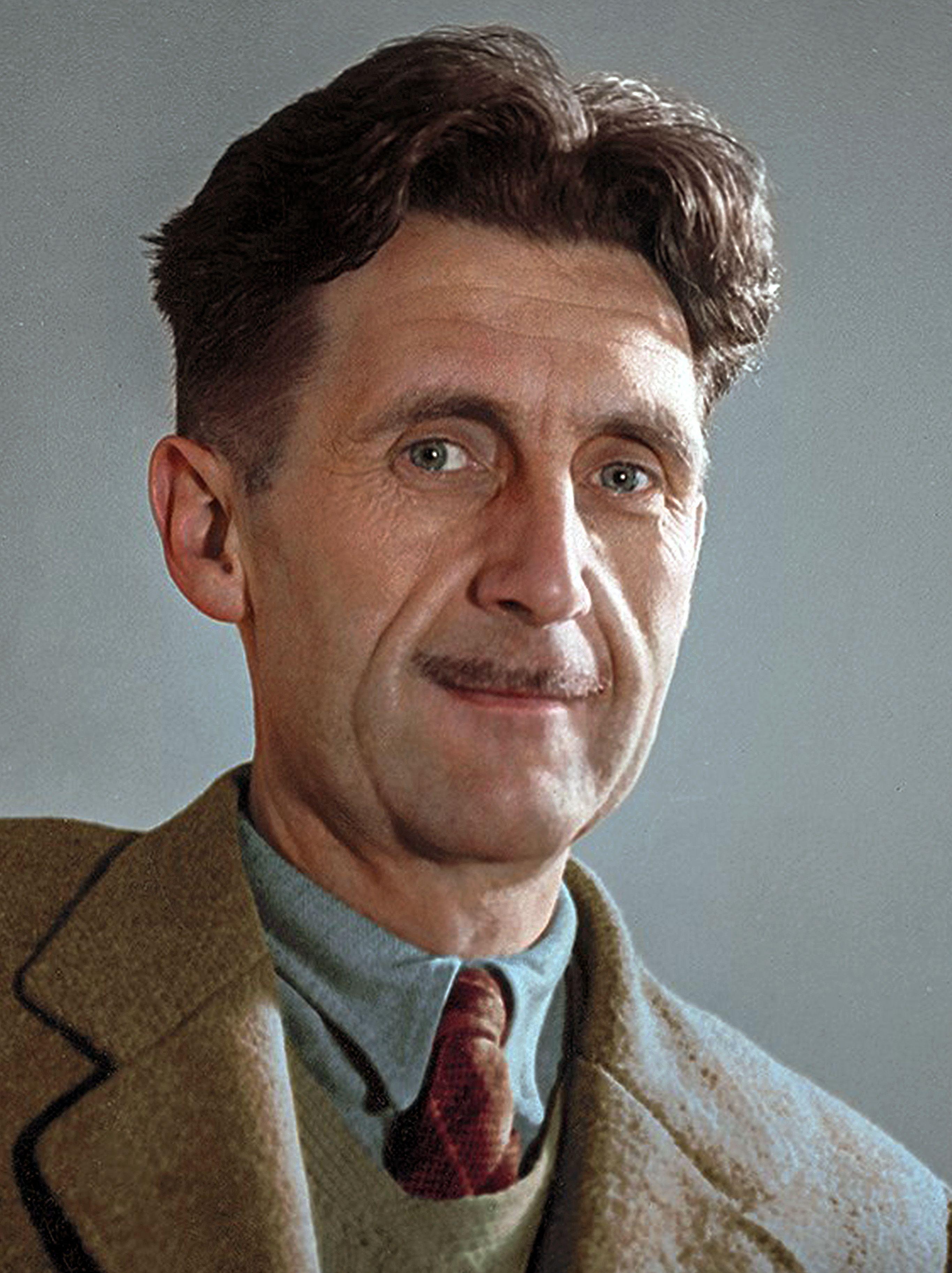 George Orwell | George orwell, Famous authors, Orwell