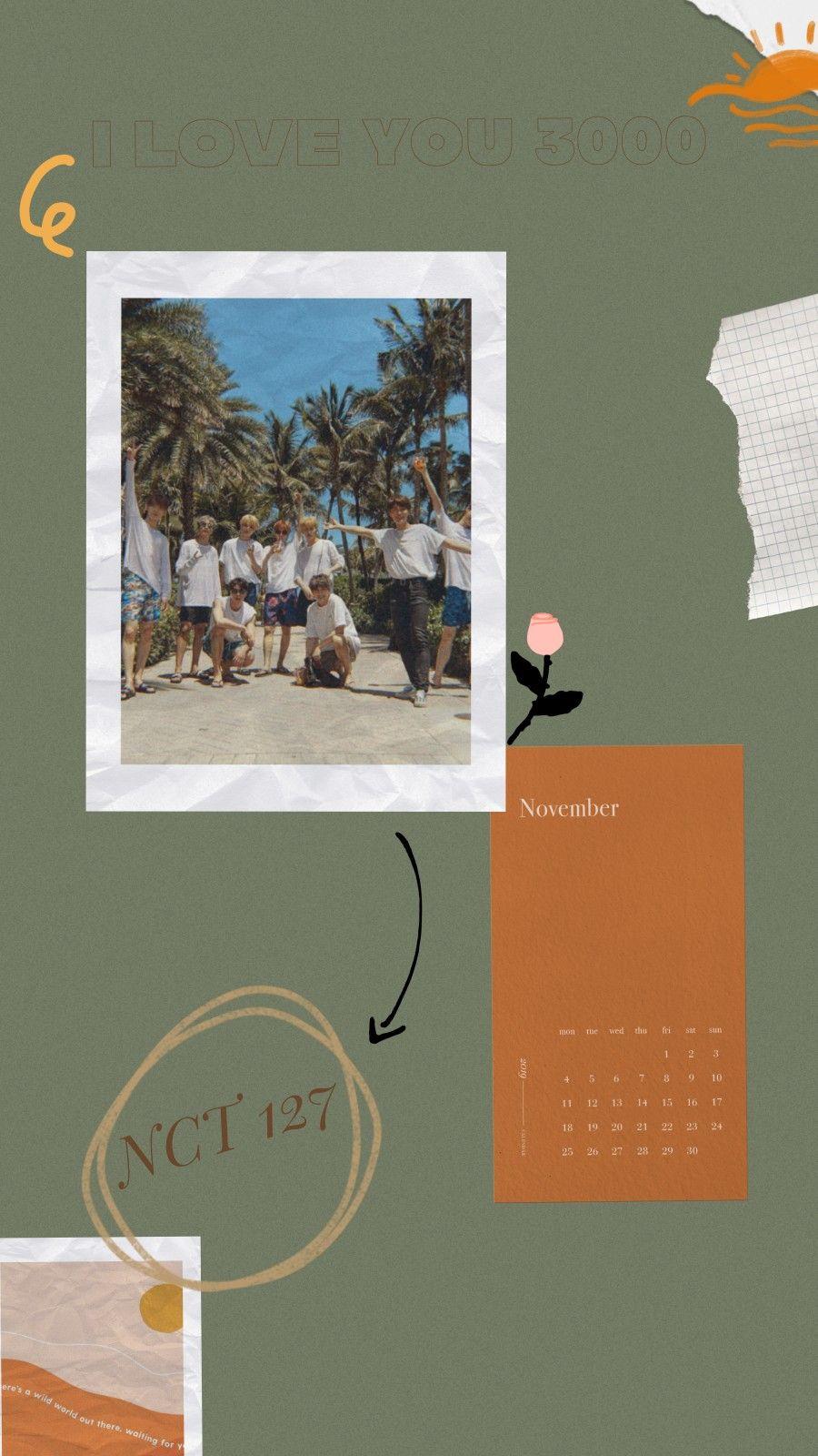 Pin oleh ลออรัตน์ อินต๊ะปัน di nct127 Kartu kertas