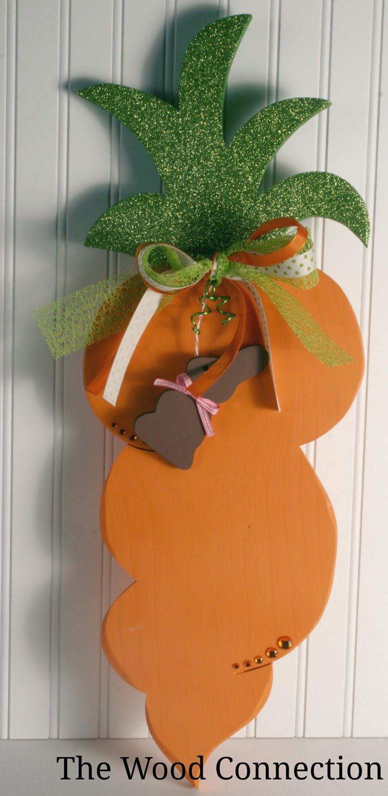 Carrot Door Hang from The Wood Connection