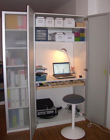 Office In A Wardrobe. Home Office Ideas In A Wardrobe I