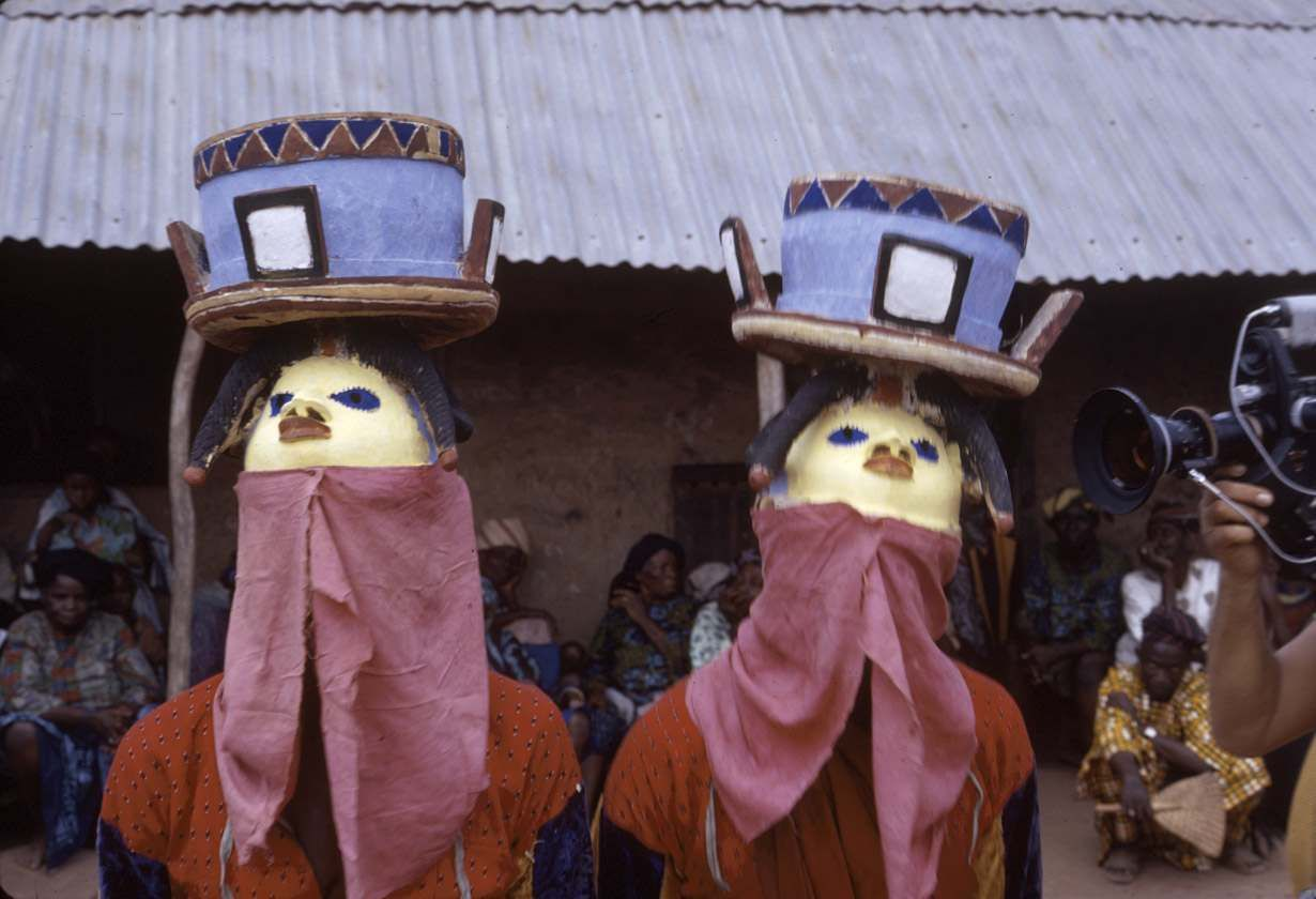 African Masquerades Incredible Photos Of Tribal Masks