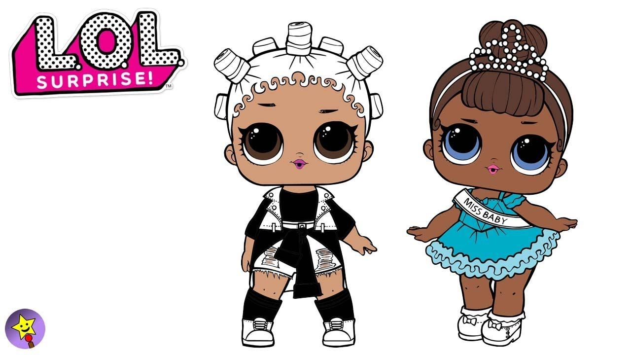 A Compilation Of Lol Surprise Dolls Coloring Page Videos Lol Surprise Dolls Coloring Book Page Fresh Coloring Book Page Coloring Books Happy Magic Baby Colors