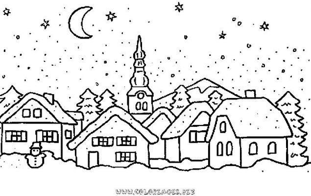 christmas village | Landscape quilts | Pinterest | Christmas ...