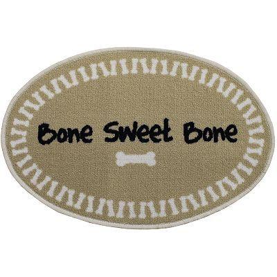Bone Sweet Bone Floor Mat 20 X 30 Floor Mats Mats Flooring