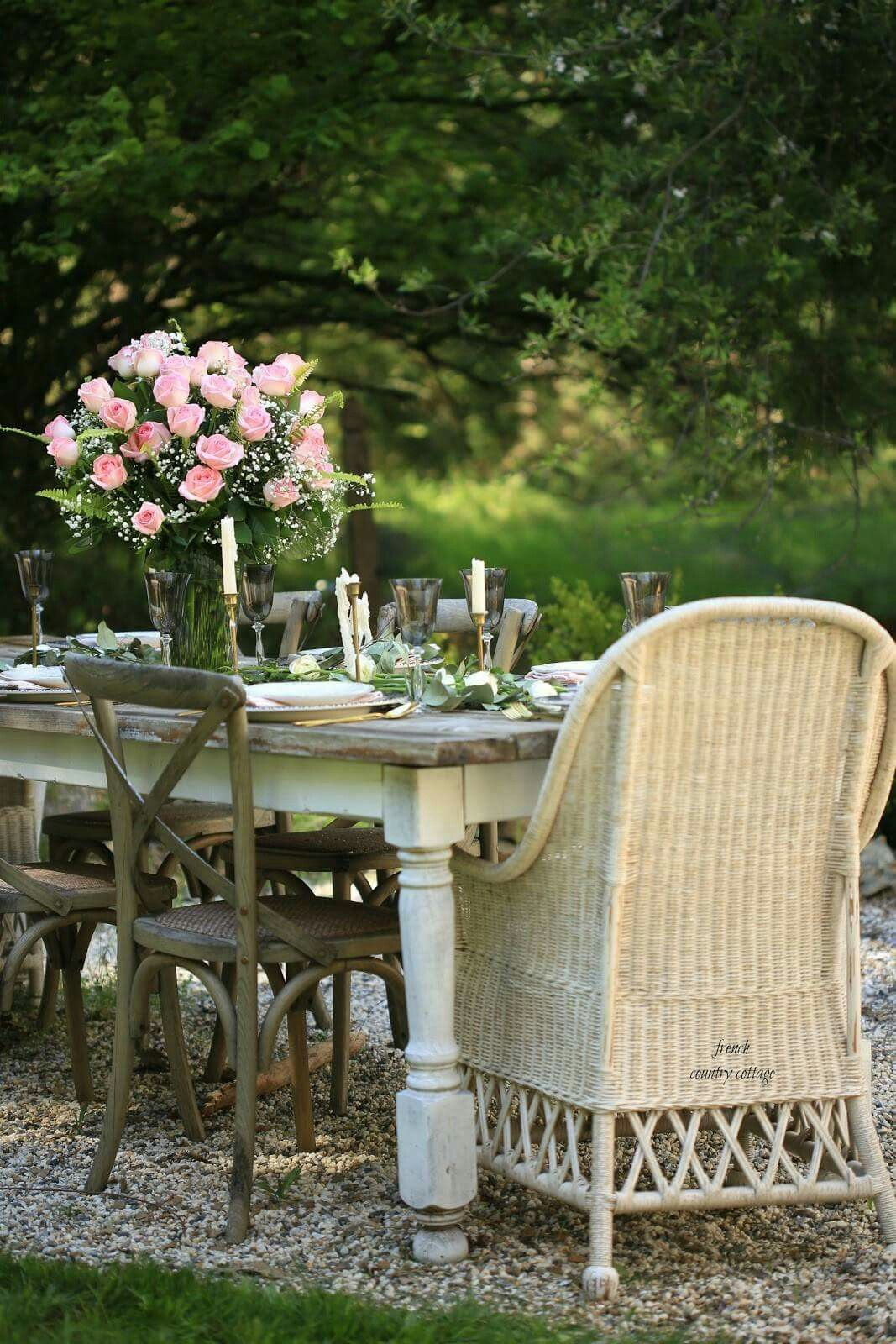 Pin By Paula Lovell Thompson On Favorite Places Spaces Country Cottage Decor Outdoor Furniture Sets