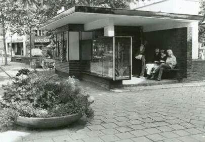 Kiosk jaren zeventig  's Gravelandseweg