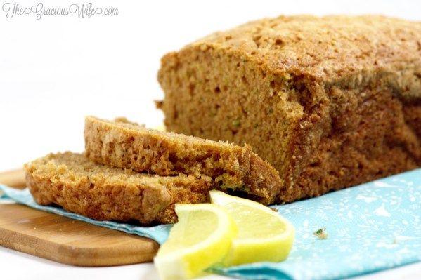 lemon zucchini bread recipe  a classic zucchini bread