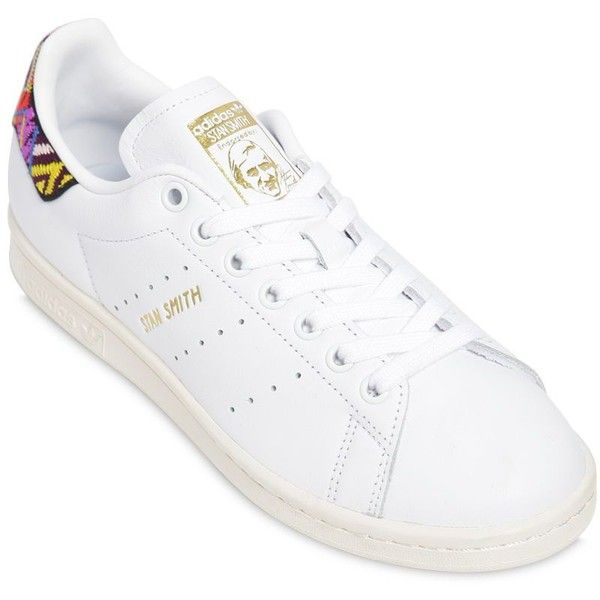 adidas originali donne stan smith passinho cuoio sneakers (530 aed