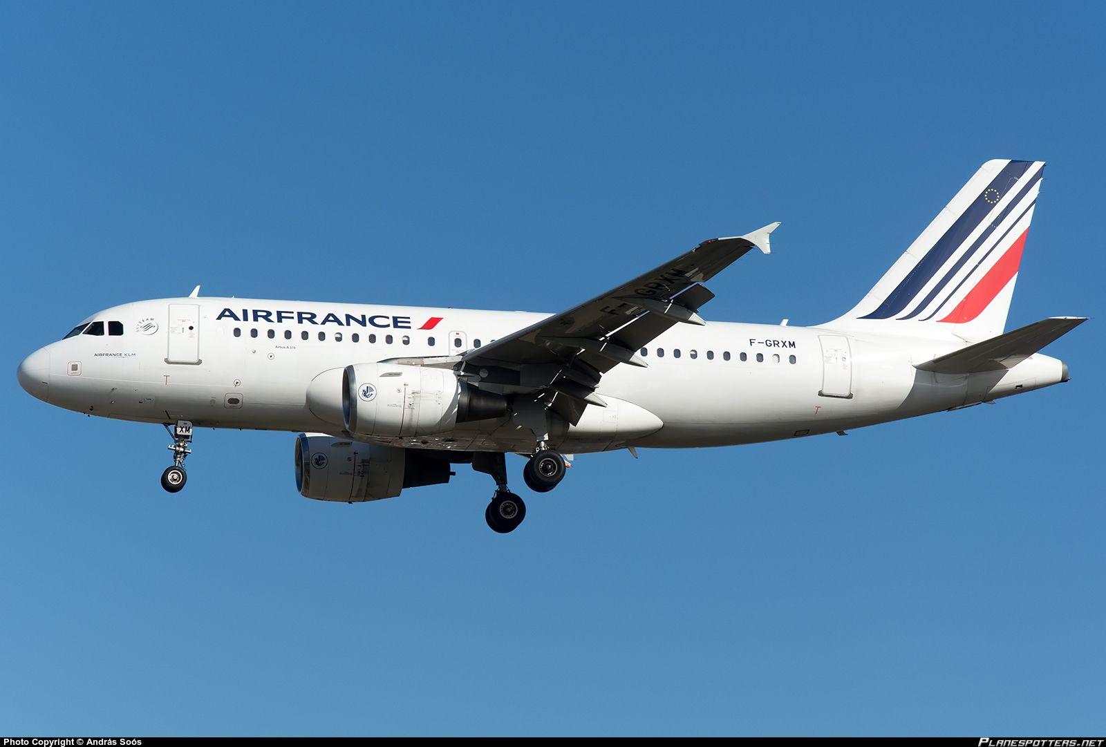 F-GRXM Air France Airbus A319-111