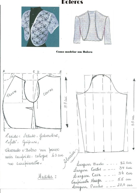 Costura e Modelagem   Hola   Pinterest   Costura, Molde y Patrones