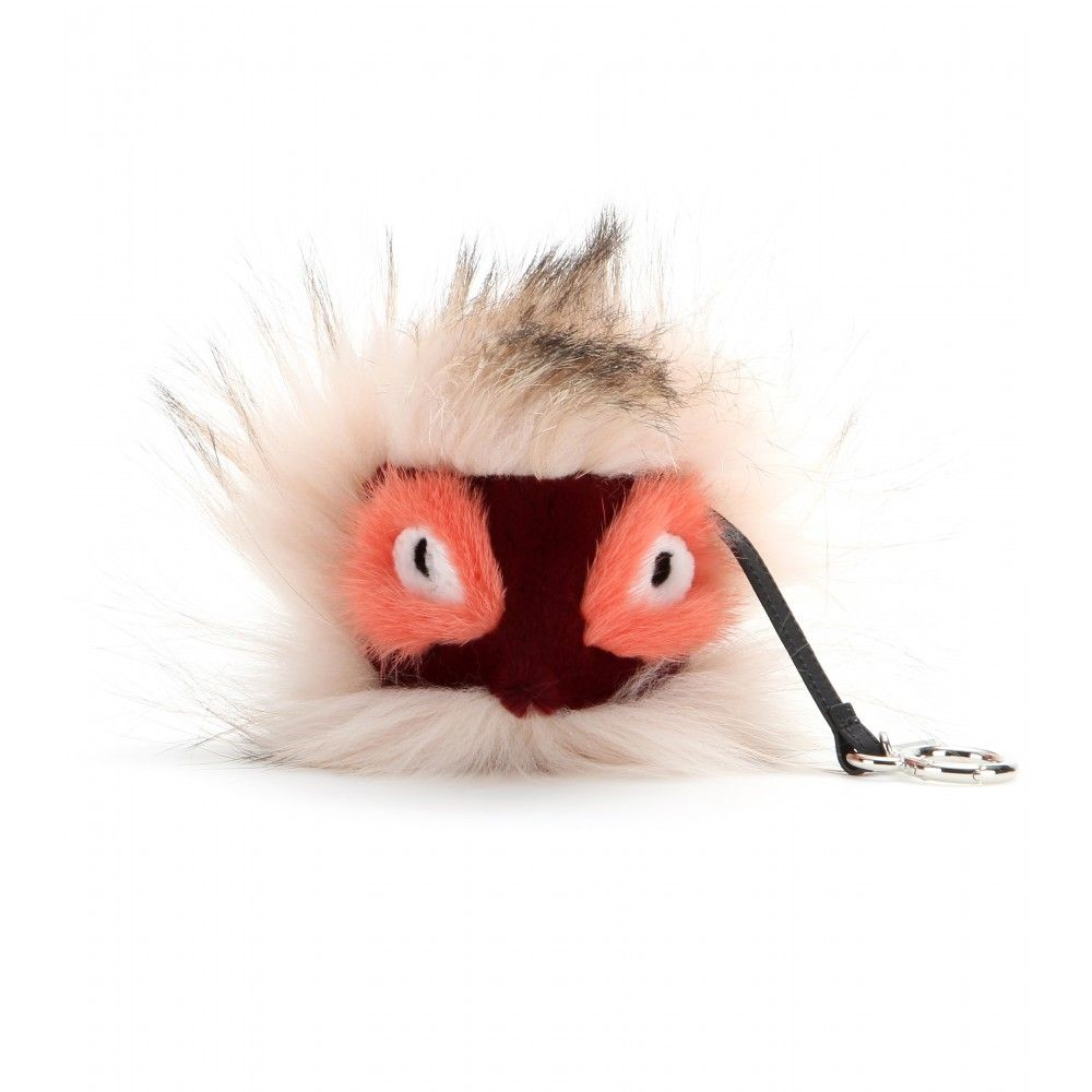Fendi - Bag Bug in pelliccia di volpe, visone e lapin - mytheresa.com