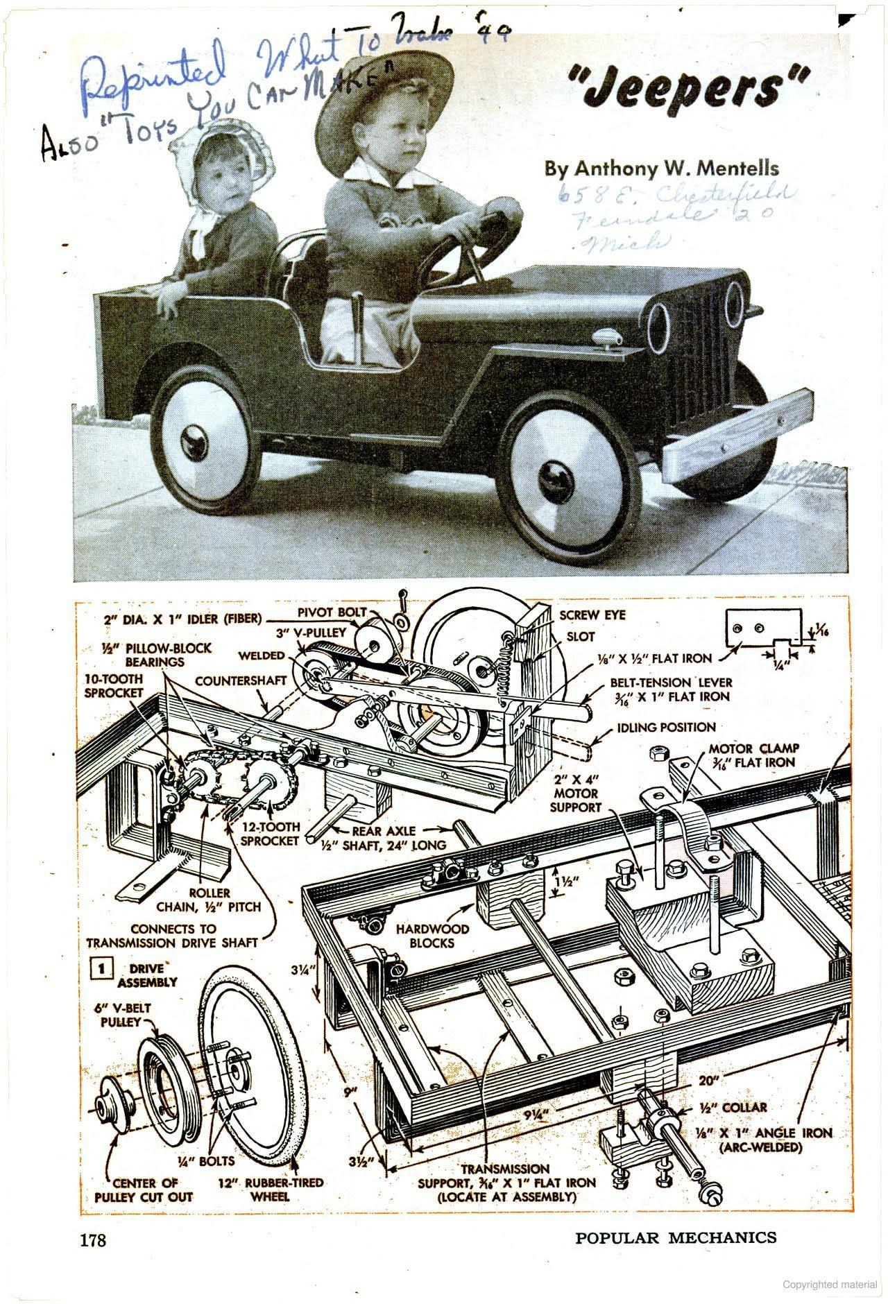 Popular Mechanics Sidewalk Jeep Pinterest