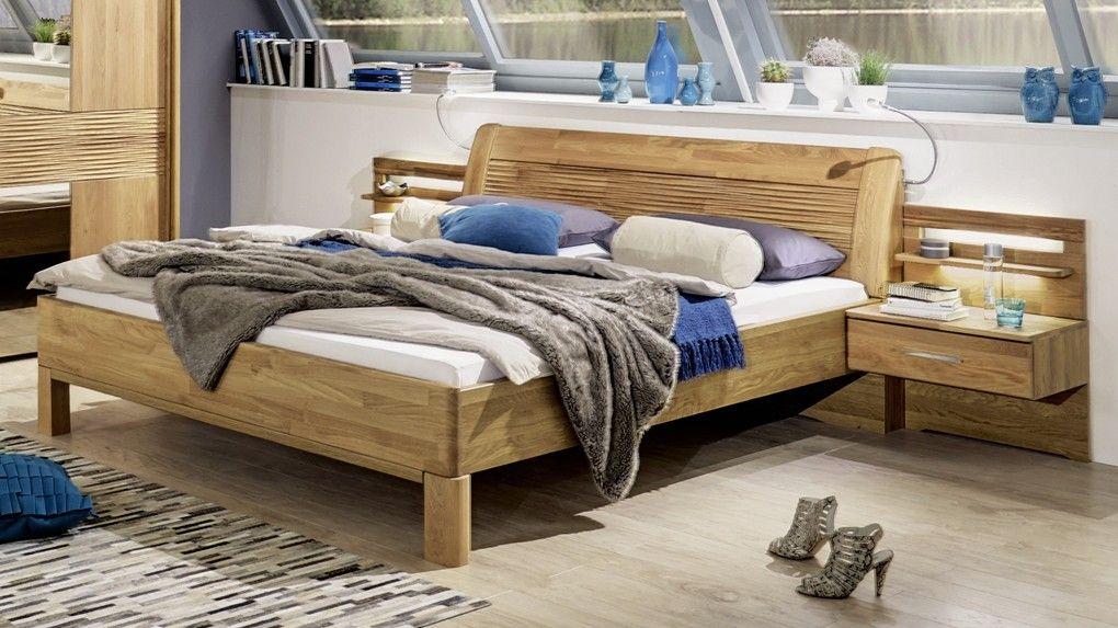 Stylform Iris Semi Solid Oak Modern Bed in 2020 Bed