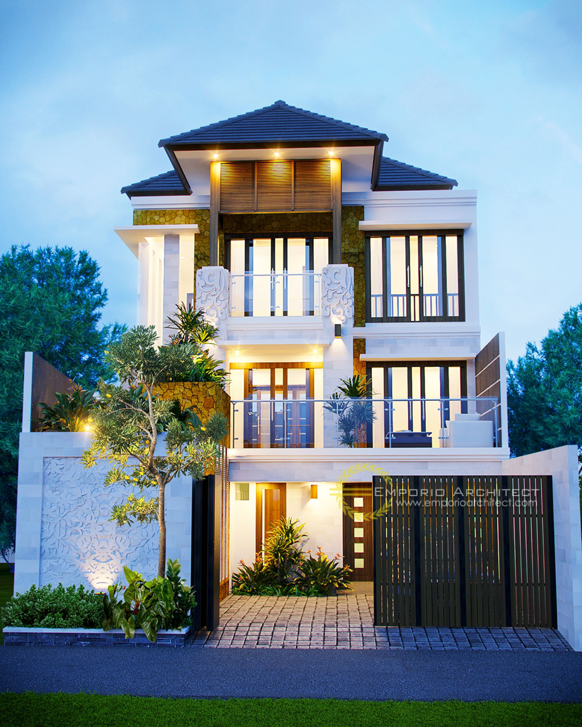 Jasa arsitek desain rumah bapak ellias dream home design modern house my also awesome tropis decoration for your apartment rh pinterest