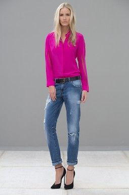 c9608da25041f Bora Silk Blouse Pink Fashion