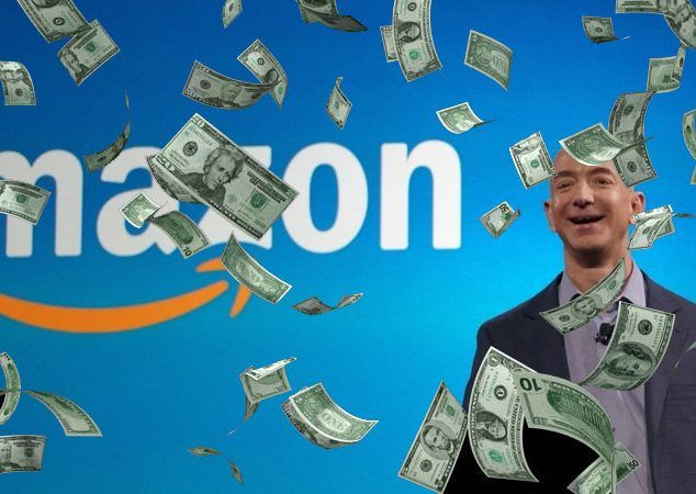 Image result for jeff bezos is only rich on paper