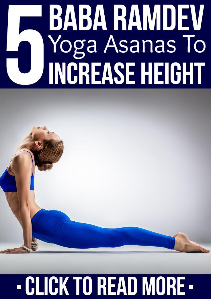 5 Effective Baba Ramdev Yoga Asanas To Increase Height | Yoga | Baba