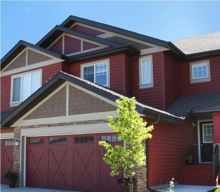 Dark Red House Google Search Lake House Ideas House