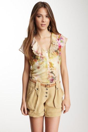 Floral Ruffle Top by Da-Nang on @HauteLook